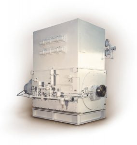 Generators for steam and gas turbines