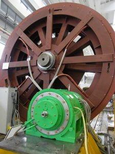 permanent magnet high speed motor
