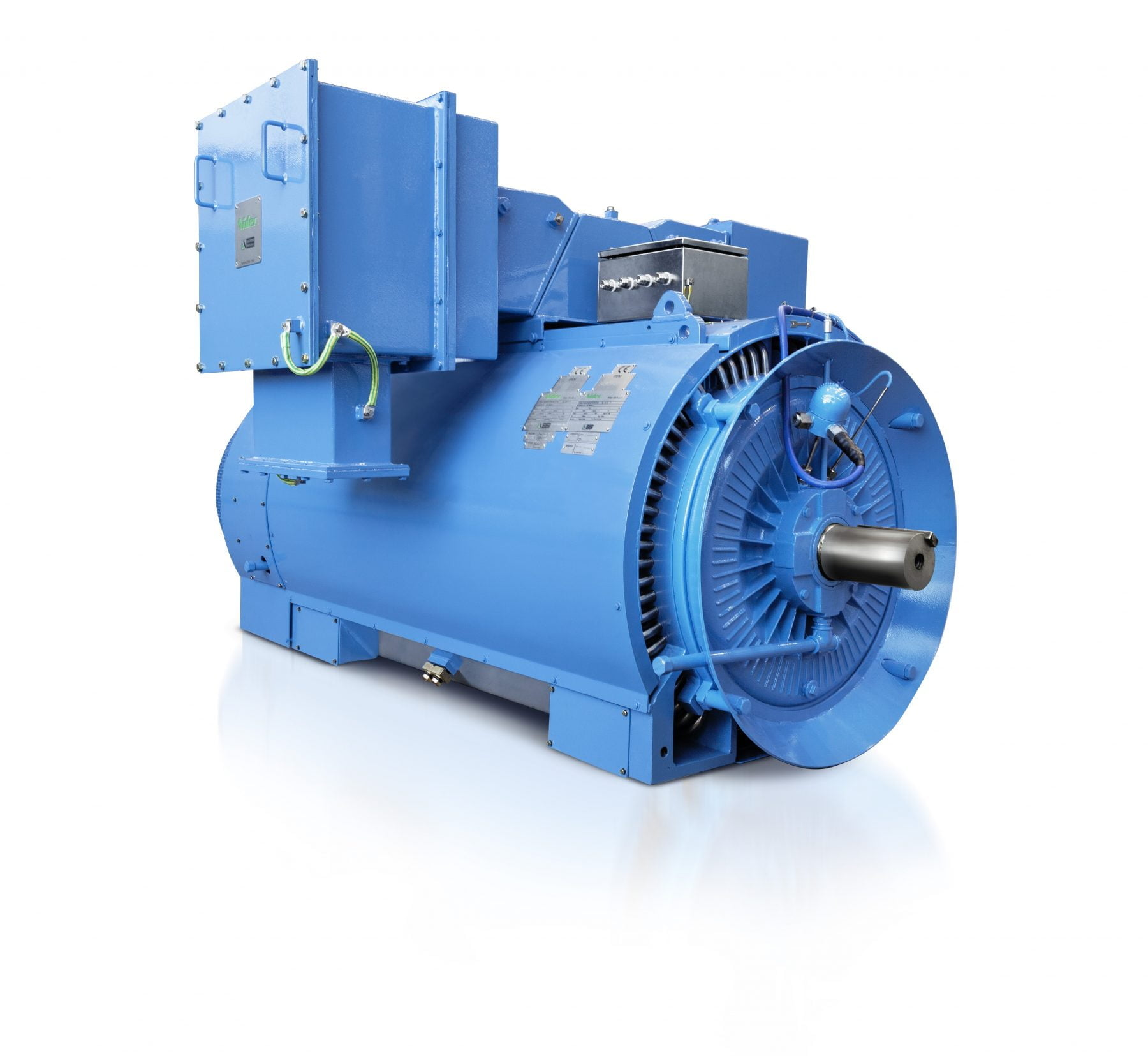 Tefc totally enclosed fan cooled motors nidec for Totally enclosed fan cooled motor