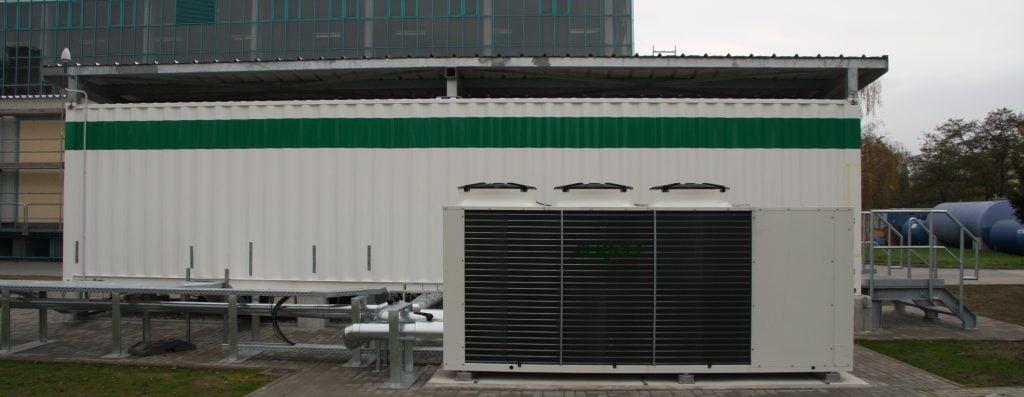 Container PCS_Kühler Rückansicht