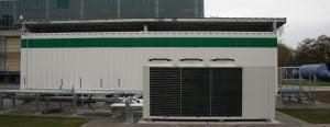 Container PCS Kühler Rückansicht