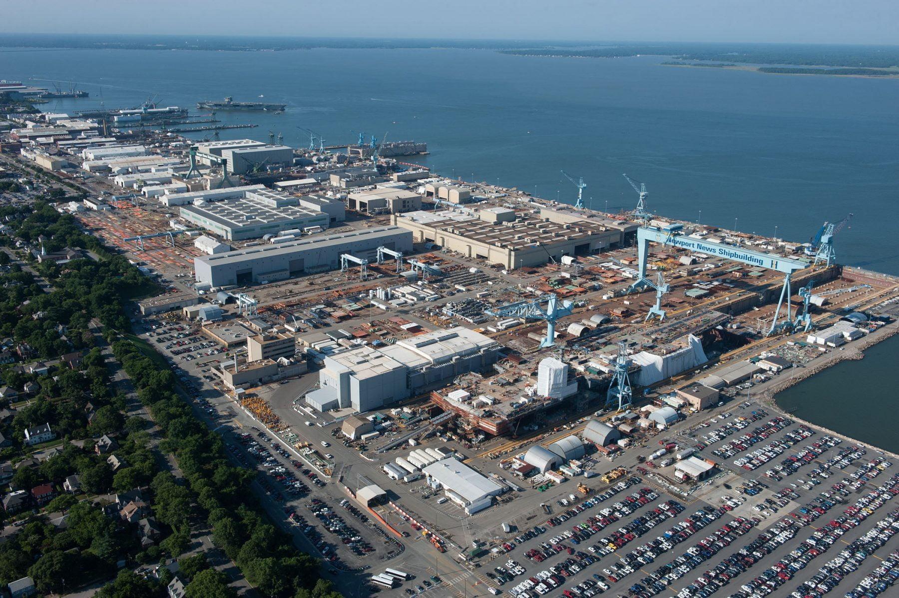 DCS13-375-938 Newport News Shipbuilding file