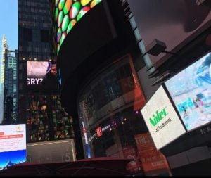 Logo Nidec Times Square