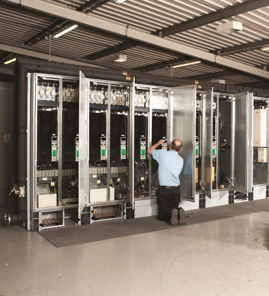 Unidrive M cabinet