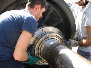 Repair and diagnostic of electric motors and generators
